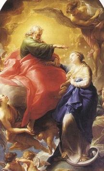 L'Immaculée Conception de Pompeo Batoni (Rome, 1750)
