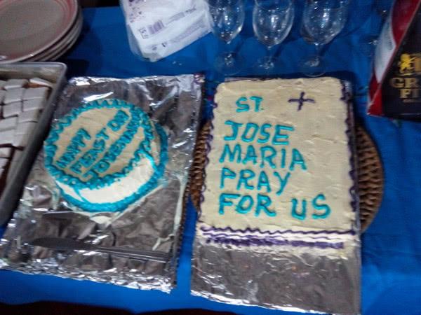 Cakes prepared to celebrate the feastday in Kilifi