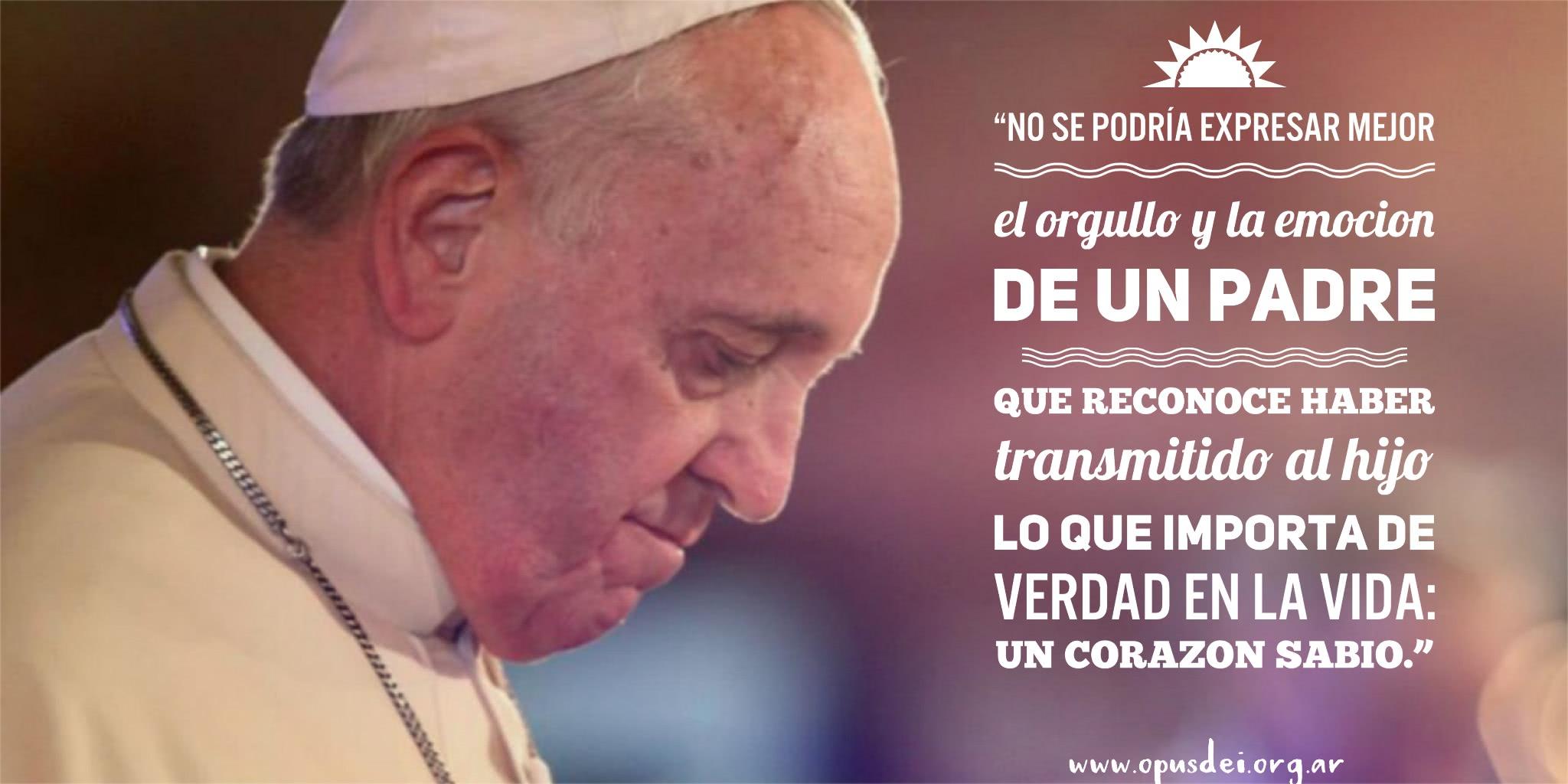 5 Consejos Del Papa Francisco A Los Papás Opus Dei