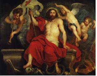 Pierre-Paul Rubens, Le Christ vainqueur de la mort (Anvers, 1622)