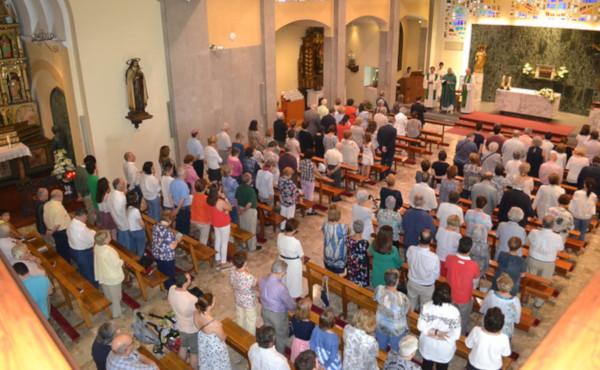 Celebración eucarística el 26 de junio de 2018 en Andorra.
