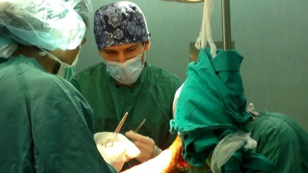 José en uno de los hospitales en los que ha trabajado