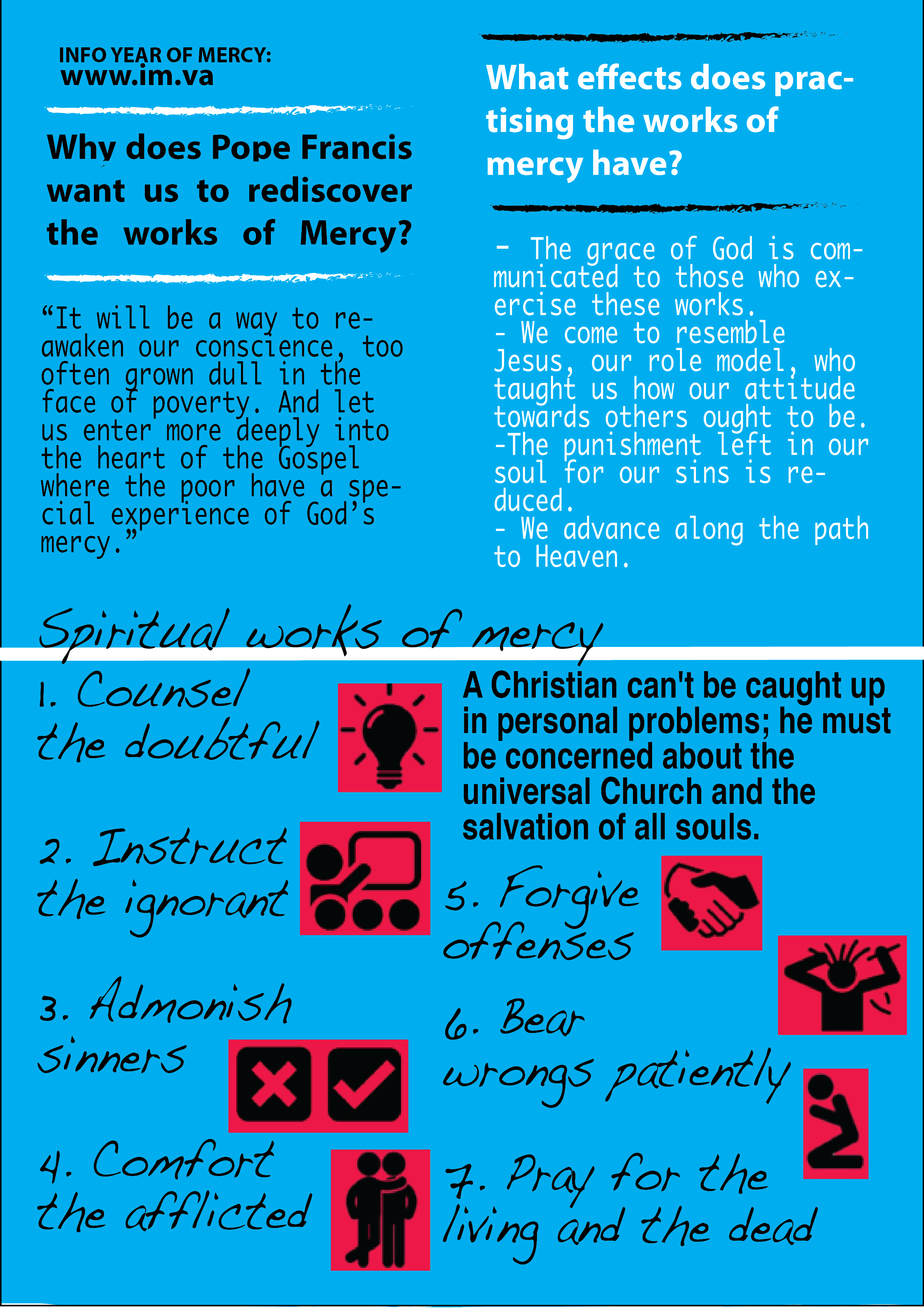 The Works Of Mercy Opus Dei