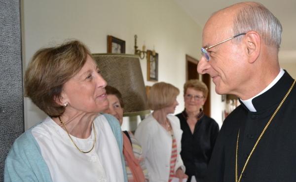 Mgr Fernando Ocariz à Dongelberg