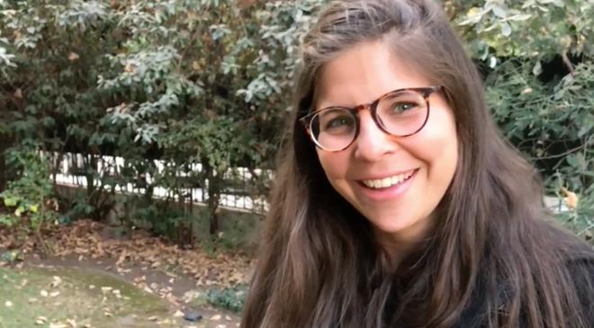 "Jacqueline, venezolana: ""Tengo que agradecer a este país por haberme acogido""."