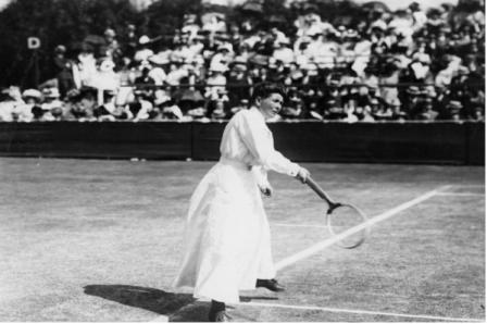 Australijska mistrzyni tenisa Charlotte Cooper 1900 r.