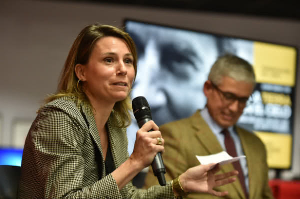 Marta Ripollés, sobrina-nieta de don Javier Echevarría. Foto: Álvaro García Fuentes.