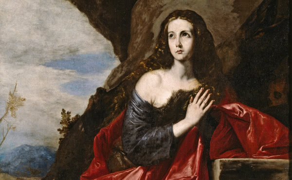 The Penitent Magdalene, by José de Ribera.