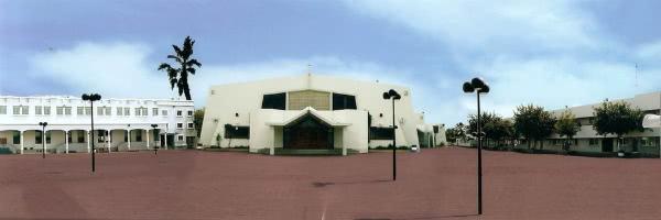 Parroquia de St. Mary, en Dubai. Fotografía cortesía de avosa.org.