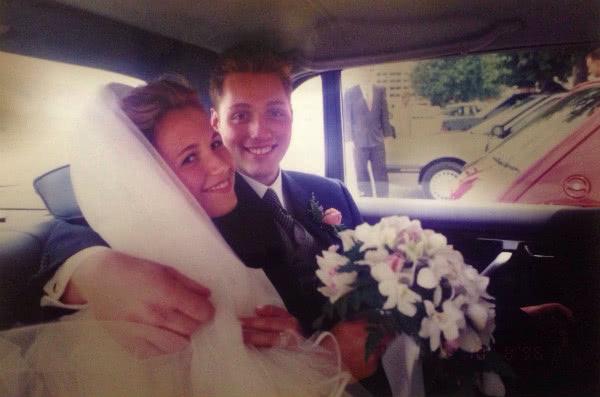 """""""Tuve la suerte de conocer a mi marido y hacer la carrera con él. Durante los duros años de la facultad, él fue mi motor""""."""