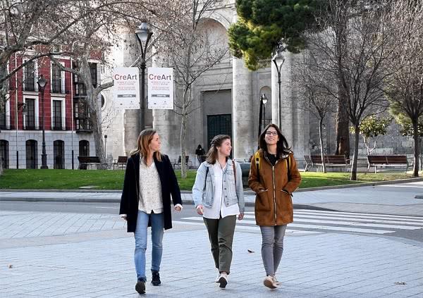 """""""Blanca, Pati y yo queríamos demostrar que los jóvenes queremos seguir cambiando el mundo""""."""