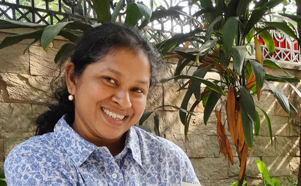 Elisabeth Varghese vive a Delhi ed è devota di san Josemaría.