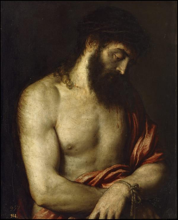 Ecce Homo (Tiziano). Titian / Public domain