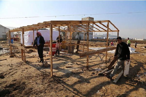 El Líbano se ha convertido, en proporción, en el país del mundo que acoge más refugiados. Foto: Caritas Internationalis (Flickr)