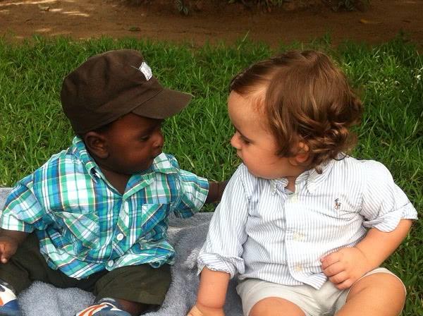Álvaro a Mayte se brzy cítili jako doma. Z maličkého Álvara se zanedlouho stal 'miláček pro všechny'.