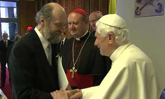 "Arvo Pärt composed his ""Vater Unser"" in honor of the 60th anniversary of Benedict XVI's ordination"