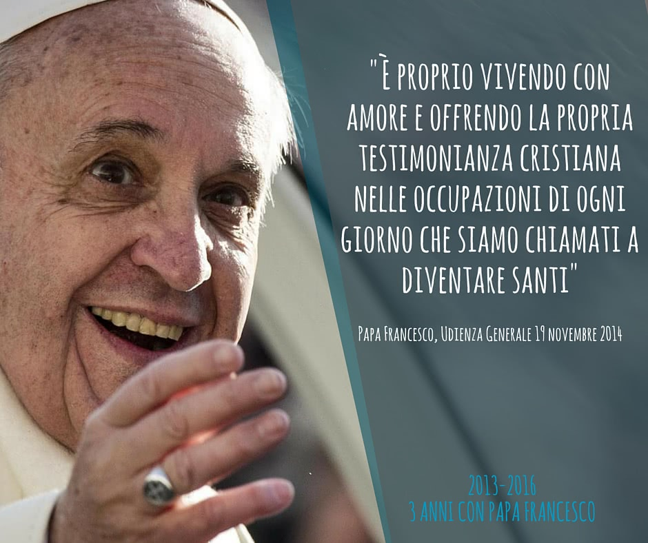 frasi papa francesco sulla vita