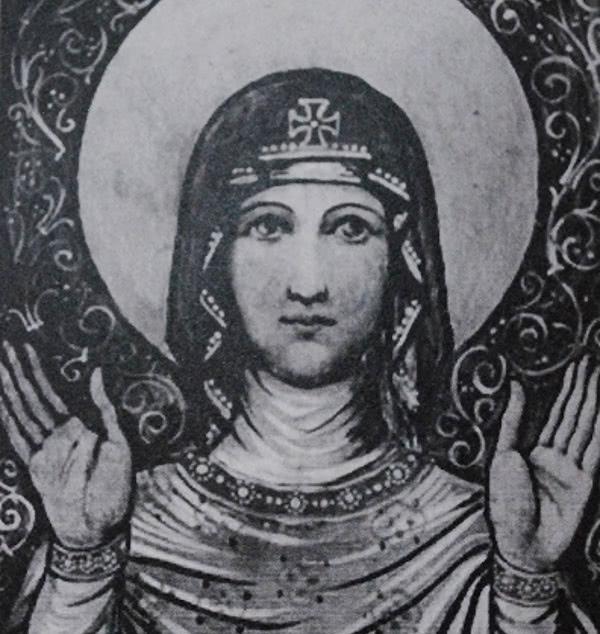 Immagine della Vergine Maria che san Josemaría regalò ai primi fedeli dell'Opus Dei che andarono negli U.S.A.