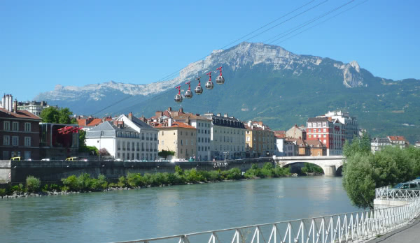 Vista de Grenoble.