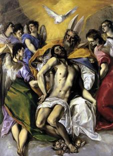 Dominique le Gréco, La Trinité (Madrid, 1577).