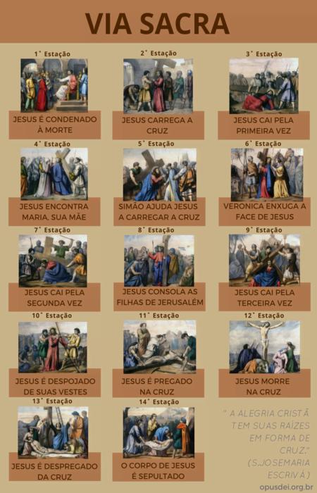 Imagens tiradas da Via Crucis de 2013 do Vaticano
