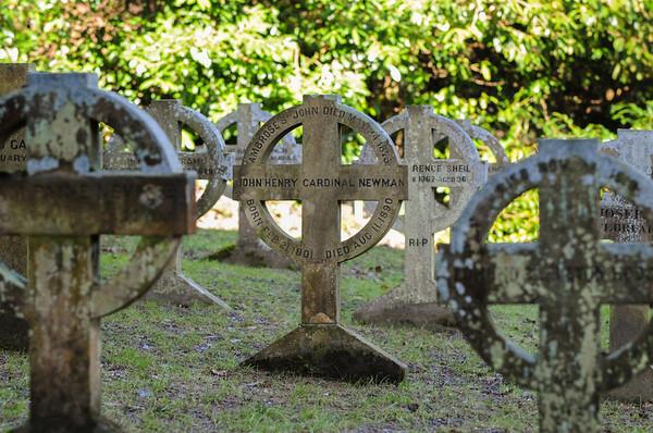 Tumba original em Rednal, onde o cardeal Newman foi enterrado © Mazur / catholicnews.org.uk