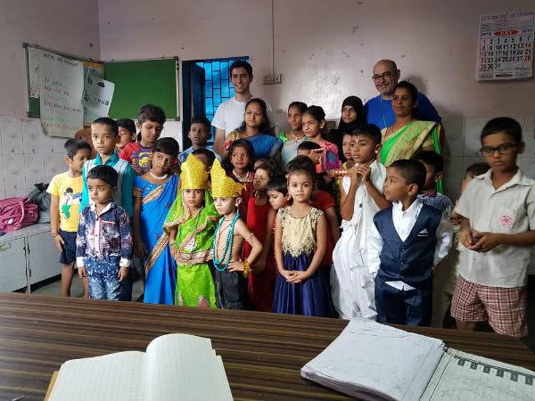 In India sono molte le cose che non si possono raccontare né scrivere. È un paese da vivere e da sognare.