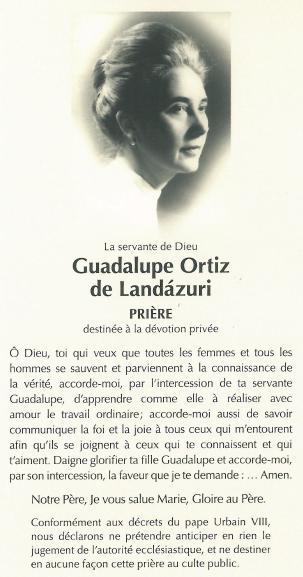 Prière à Guadalupe
