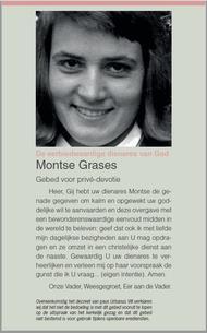 Noveen tot de eerbiedwaardige Montse Grases