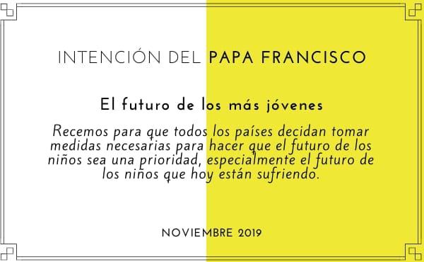 Intención de oración del Papa Francisco