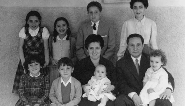 Foto de la familia Alvira Domínguez.