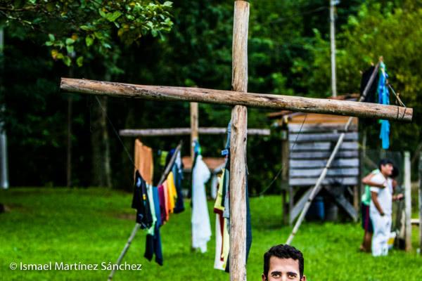 Rafael, un nuevo hijo pródigo, en Guarantinguetá (Brasil).