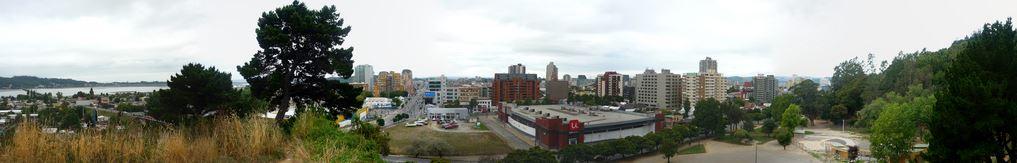 Vista de Concepción desde Cerro Caracol. Fotografía de El Kiwi en Flickr.