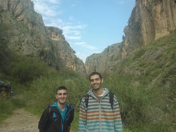 Alaa (izquierda) y Raghd.