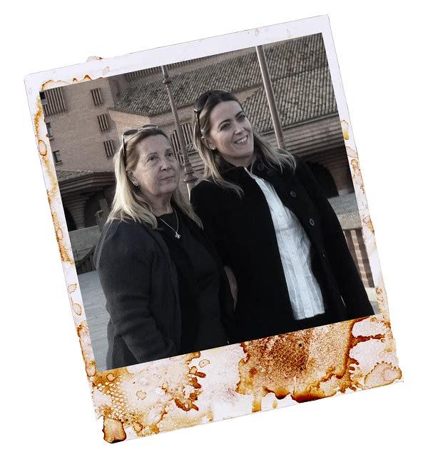 Kika y Marina, madre e hija.