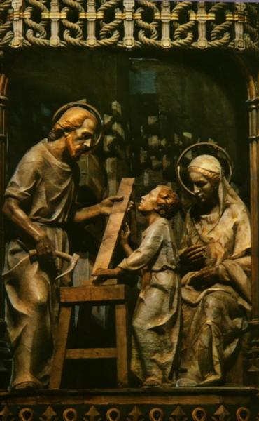 """O exercício da paternidade sobre Jesus constitui parte essencial de uma """"missão"""" que preenche toda vida de José"""