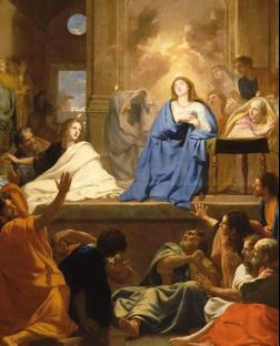 Charles Le Brun, Descente du Saint Esprit (1654, Louvre)