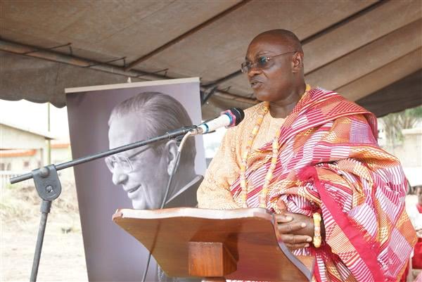 Les remerciements de M. Ruffin N'Da, Chef de M'Batto Bouaké