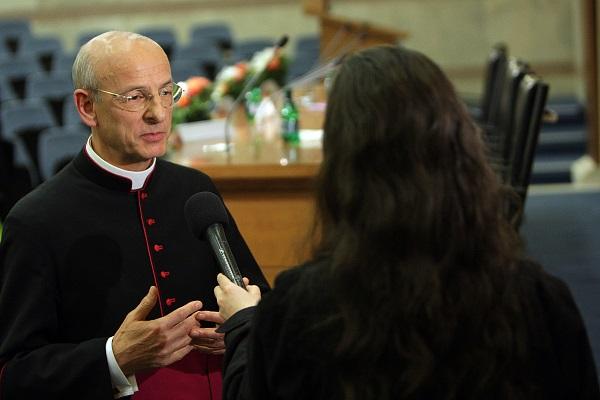 Mons. Fernando Ocáriz, Vicario Auxiliar de la Prelatura del Opus Dei.