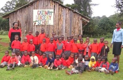 Voluntariado desde Kimlea con los niños