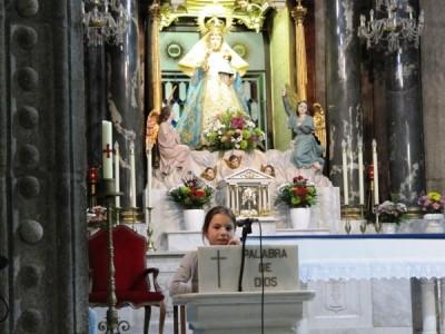 A las cuatro rezaron el Rosario en el Santuario, con la mente en aquella primera romería de San Josemaría