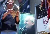 Durante una lectura pública en Barcelona sobre la obra de Tolkien