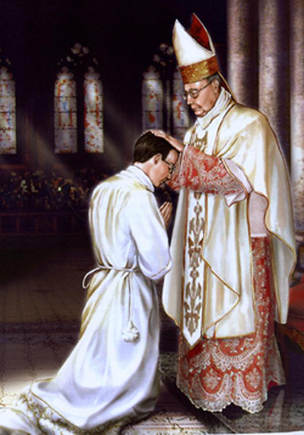 Die Priesterweihe von Josemaría
