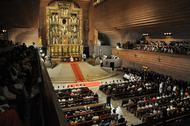 Fotos da ordenação de sacerdotes em Torreciudad