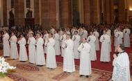 """Ordination de 30 nouveaux diacres issus de 11 pays différents: """"une manifestation de foi"""""""
