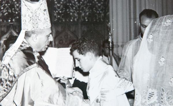 Opus Dei - Aniversário de sacerdócio de D. Javier Echevarría