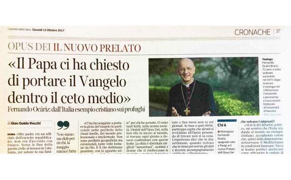 """Opus Dei - """"Der Papst hat uns gebeten, das Evangelium in den Mittelstand zu tragen."""""""
