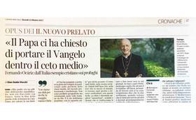 """""""Der Papst hat uns gebeten, das Evangelium in den Mittelstand zu tragen."""""""