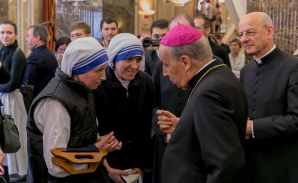 """""""Teresa di Calcutta vedeva nell'umanità una famiglia"""""""