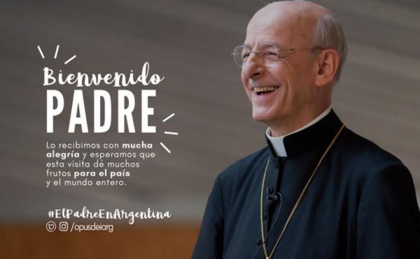 El prelado del Opus Dei en Argentina